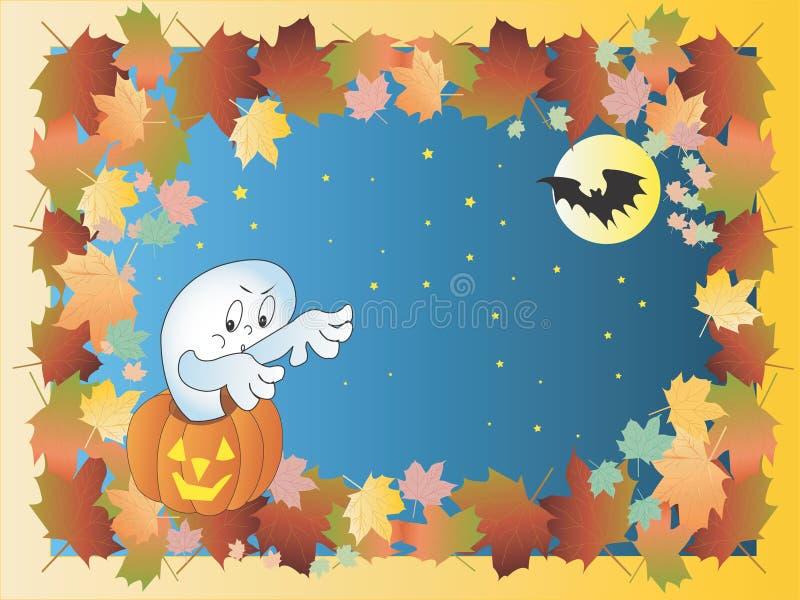 Halloween frame royalty free illustration