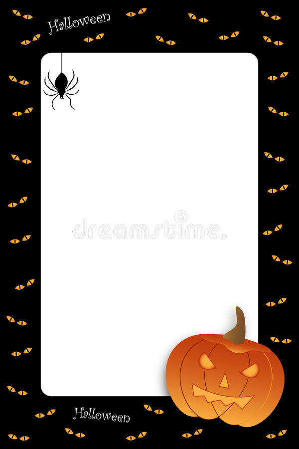 Free Halloween Frame Royalty Free Stock Photo - 15840965