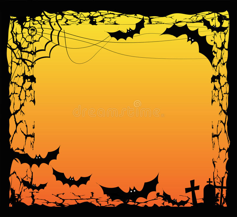 Download Halloween frame stock vector. Illustration of decorate - 40361664