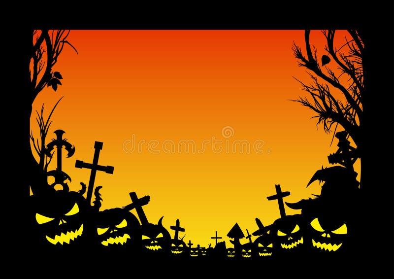 blank halloween flyer