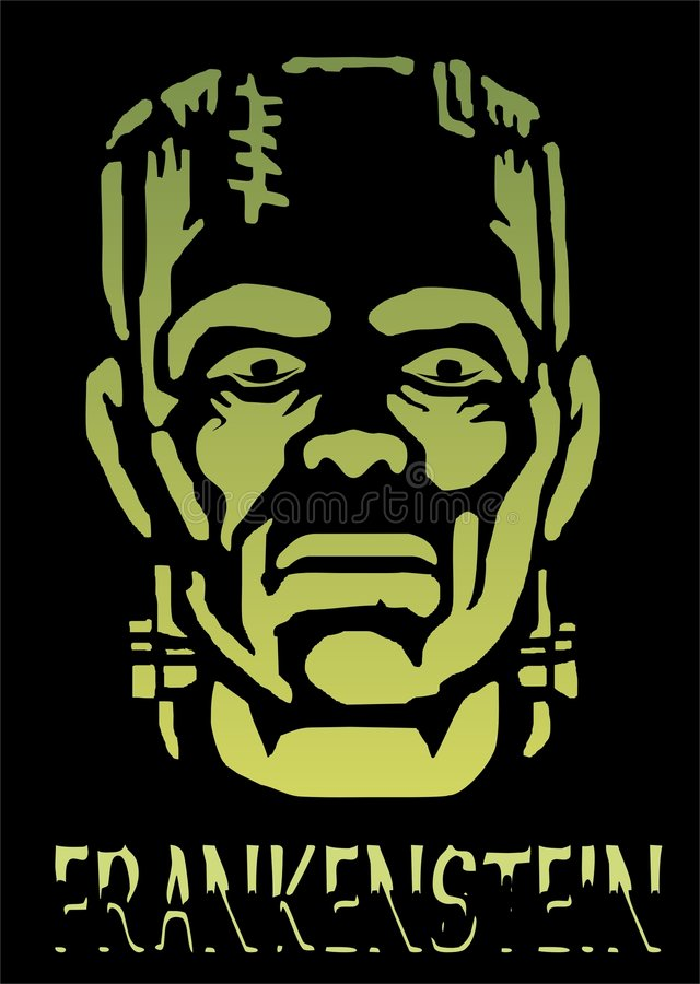 Halloween Frankenstein royalty free stock images