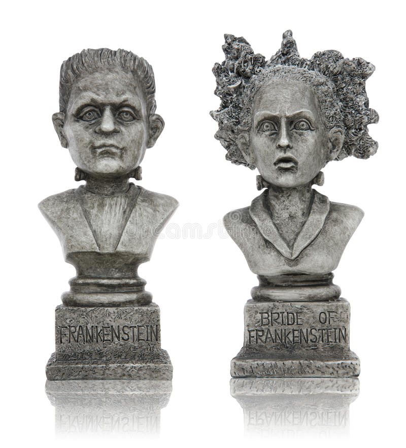 Download Halloween Frankenstein Statues Stock Photo - Image: 10853536