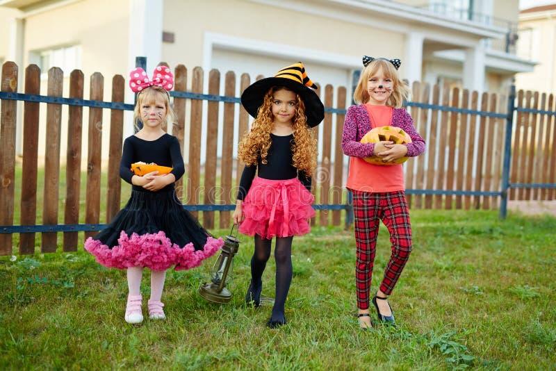 Halloween-gang stock fotografie