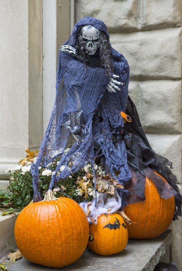 Halloween garneringar arkivbilder