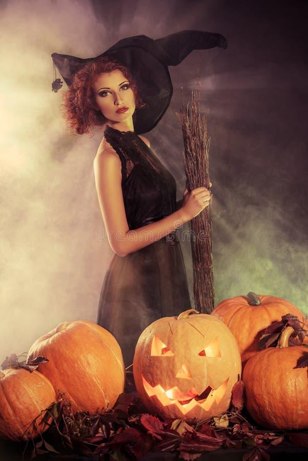 Halloween-Geheimnis lizenzfreies stockfoto