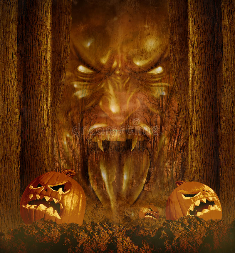 Halloween-Geist vektor abbildung