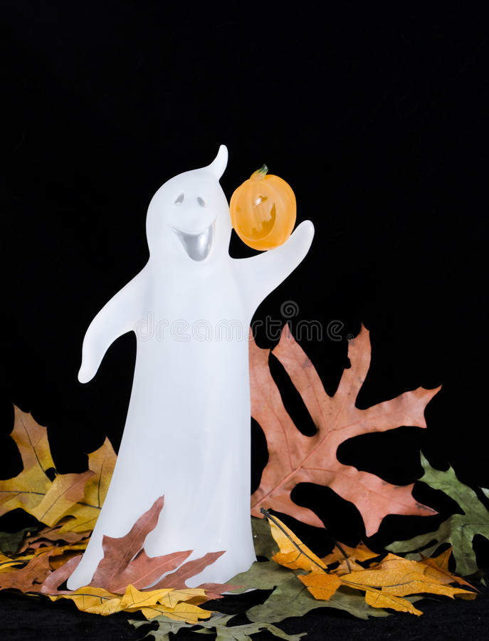Halloween-Geist - Vertikale lizenzfreie stockfotos