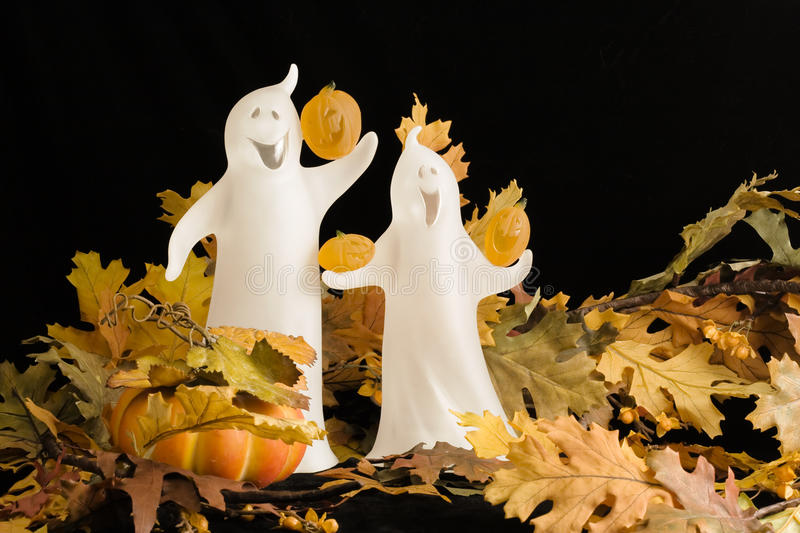 Halloween Ghosts royalty free stock photography