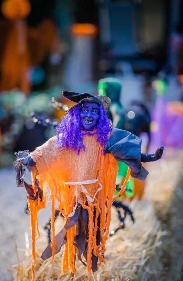 Halloween goblin figure royalty free stock photos
