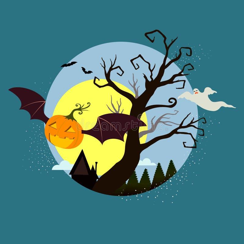 Halloween graphic design,  illustration vector illustration