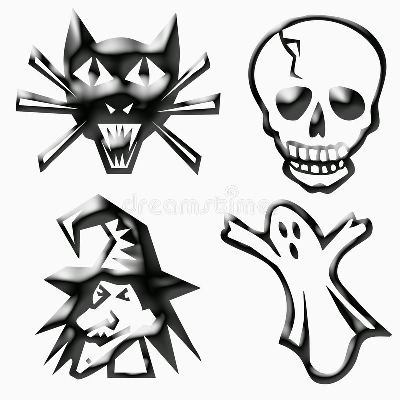 Download Halloween graphics stock illustration. Image of halloween - 6497507