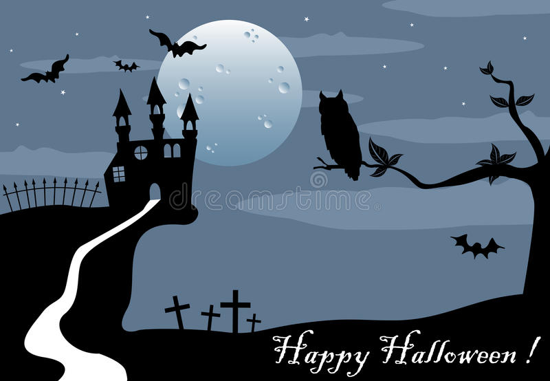 Download Halloween greeting stock vector. Image of background - 26620600