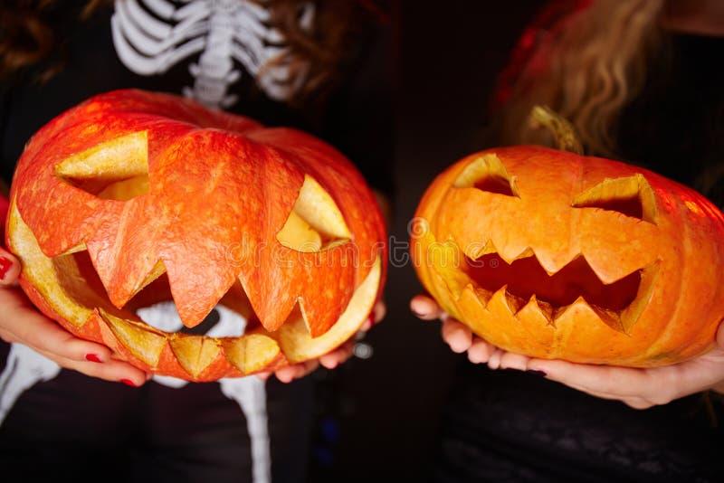 Halloween-Grinsen stockbilder