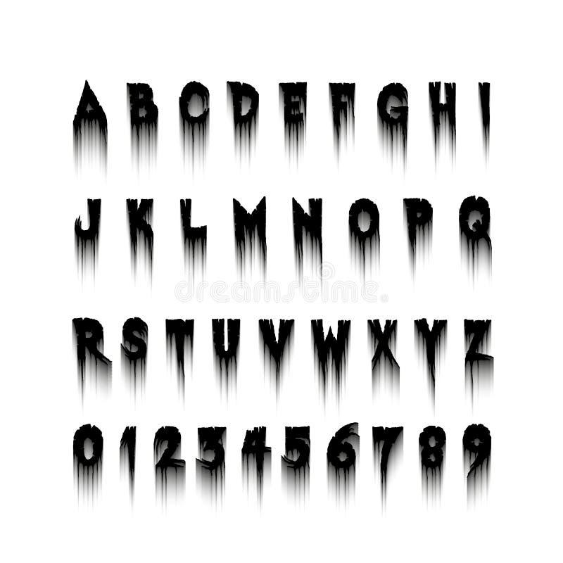 Nett Halloween Alphabet Buchstaben 2 Zeitgenössisch - Framing ...