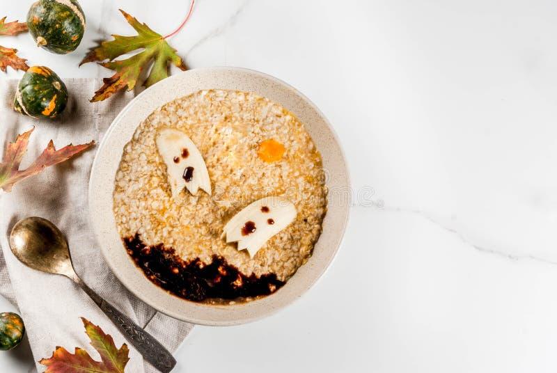 Halloween-Hafer für Kinder lizenzfreie stockfotos
