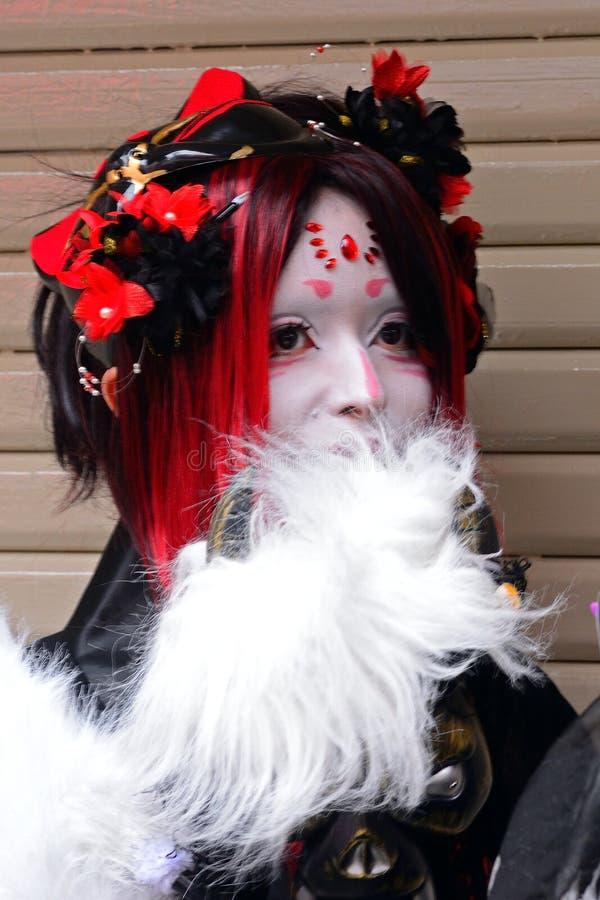 Halloween in Harajuku, Tokyo, Giappone fotografia stock