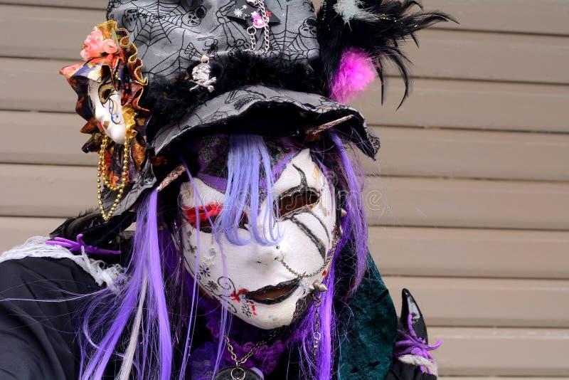 Halloween in Harajuku, Tokyo, Japan lizenzfreie stockfotos