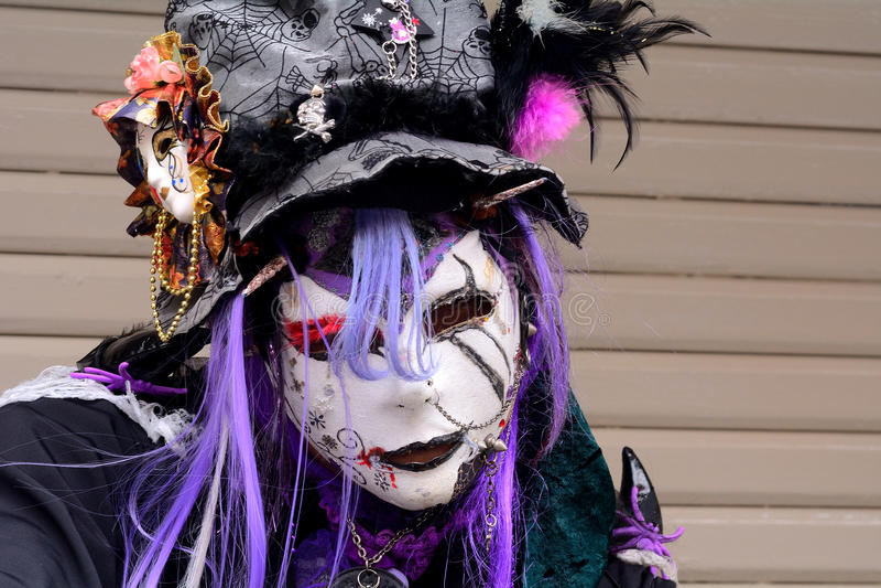 Halloween in Harajuku, Tokyo, Japan royalty free stock photos