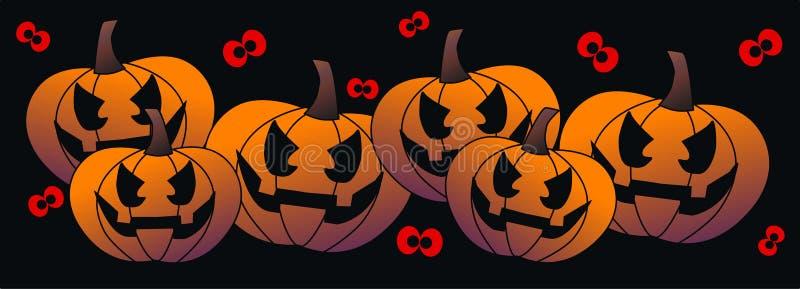 Download Halloween header stock illustration. Image of halloween - 25661200