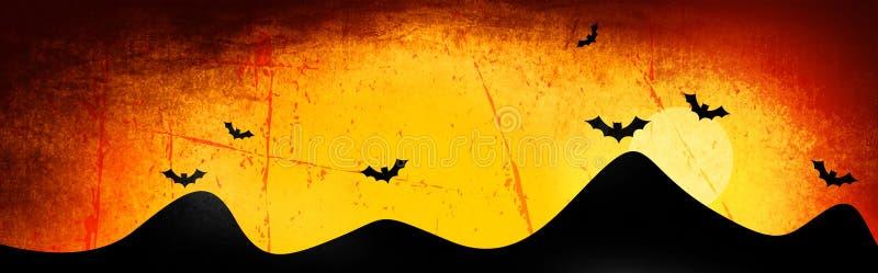 Halloween header / background stock photography