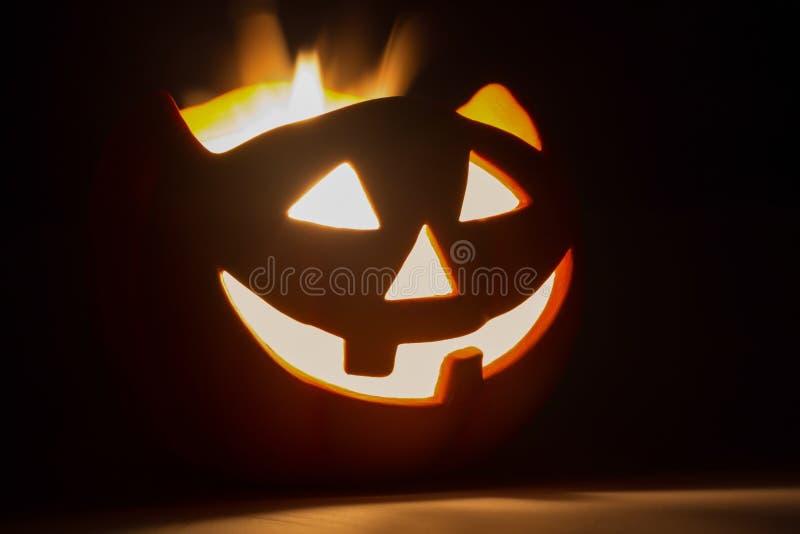 Halloween-hefboom-o-lantaarn stock afbeelding