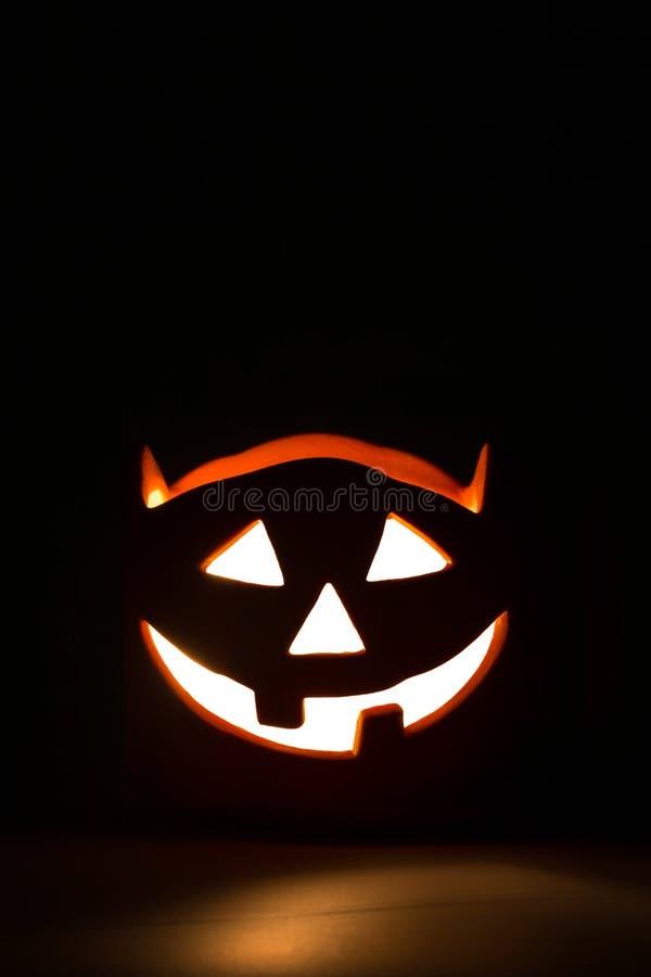 Halloween-hefboom-o-lantaarn stock afbeeldingen