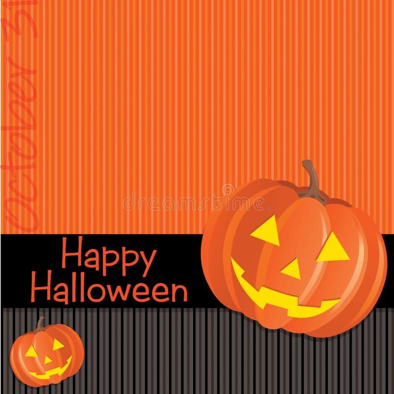 Halloween heureux illustration libre de droits