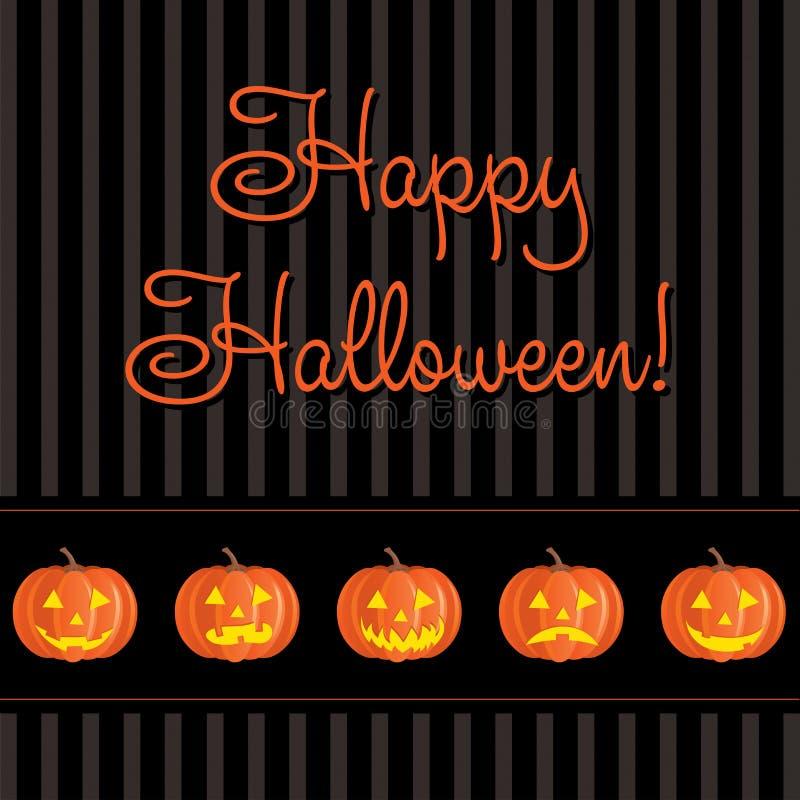 Halloween heureux illustration stock
