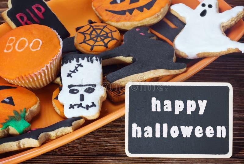 Halloween heureux image libre de droits