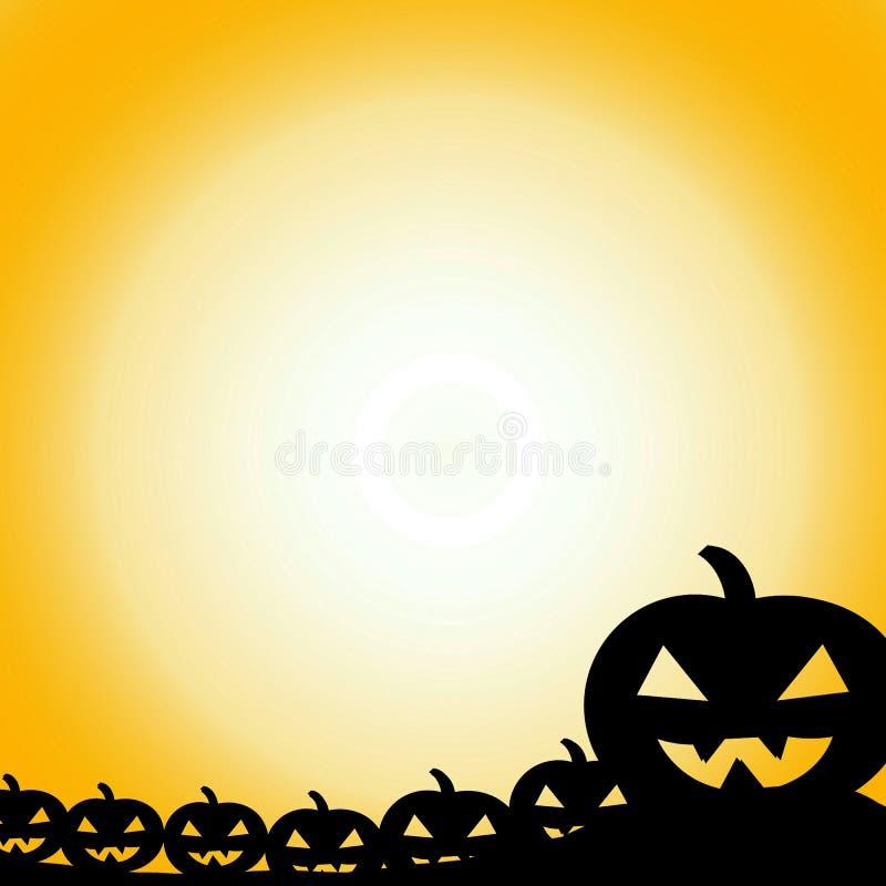 Halloween heureux, jour de Halloween illustration de vecteur