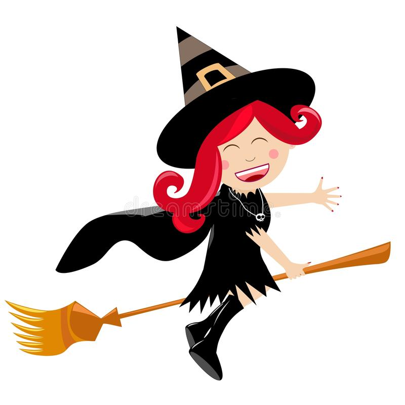 Halloween-Hexe vektor abbildung
