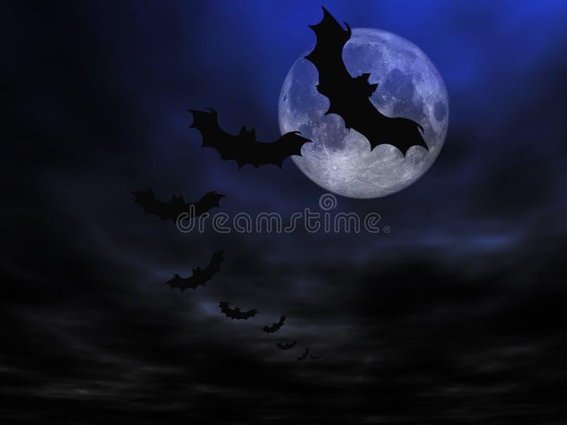 Halloween-Hintergrund lizenzfreie abbildung