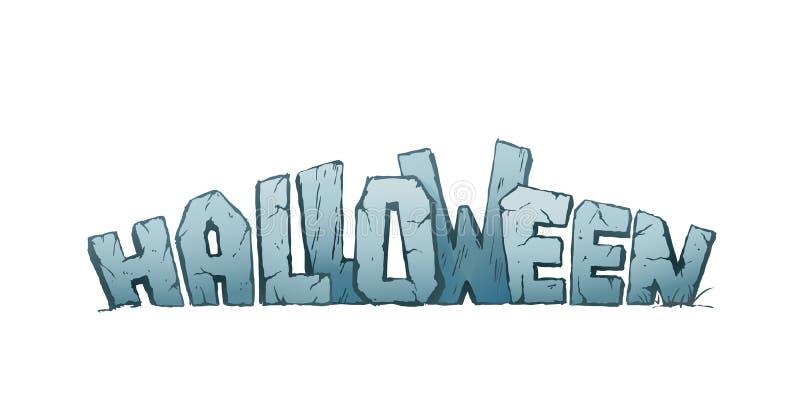 Halloween Holiday Header royalty free illustration