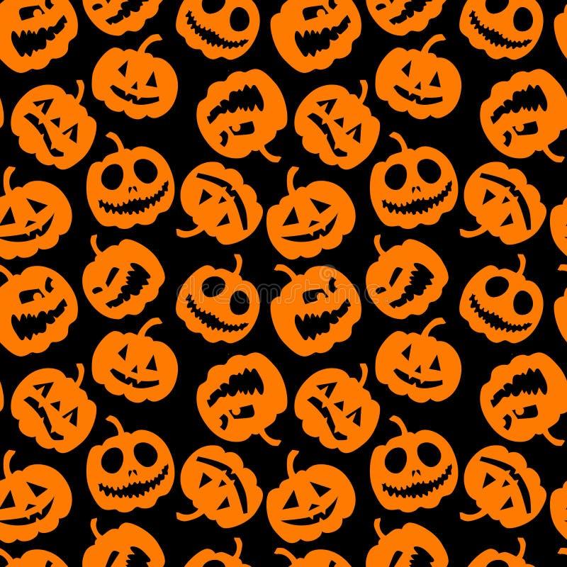 Halloween holiday, seamless background stock illustration