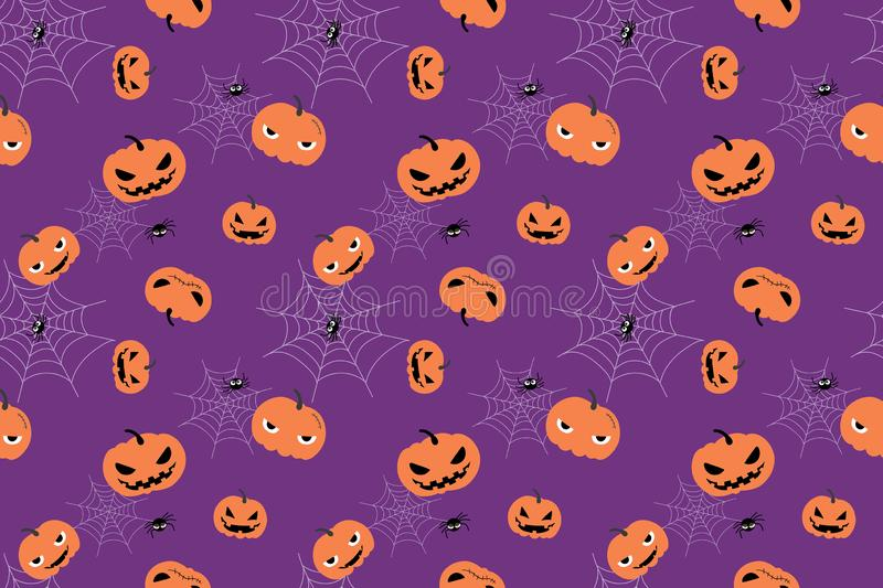 Seamless pattern design with Halloween holiday stock photos