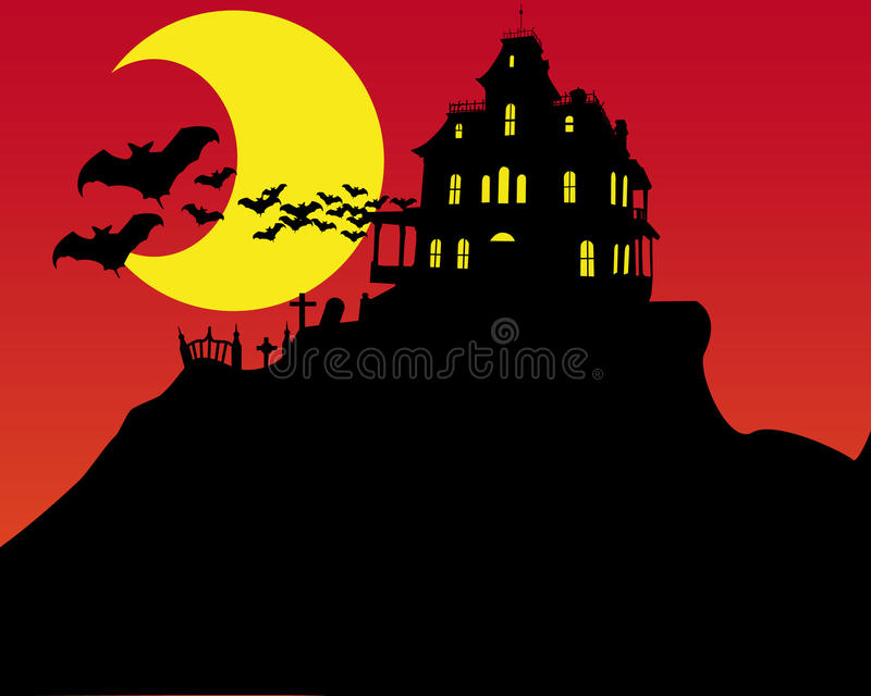 Download Halloween Horror House Stock Images - Image: 15737654