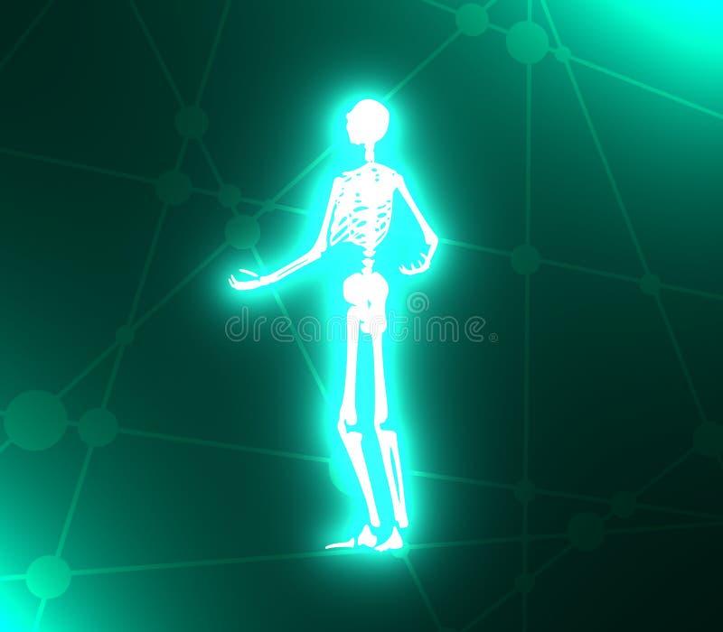 Skeleton Posing Stock Illustrations – 462 Skeleton Posing