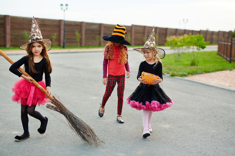 Halloween hunting royalty free stock images