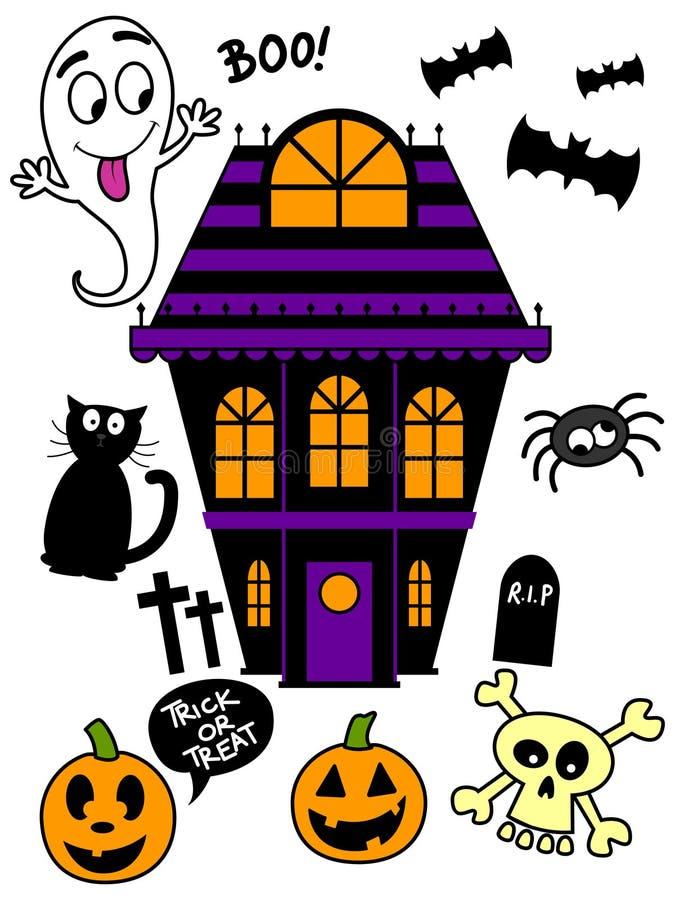 Download Halloween Icon Set stock vector. Image of cross, cute - 34230817