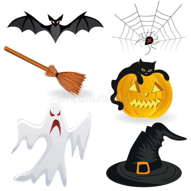 Download Halloween Icons Royalty Free Stock Photos - Image: 20701888