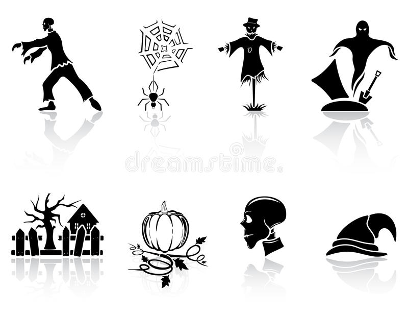 Download Halloween Icons Royalty Free Stock Photo - Image: 26268815