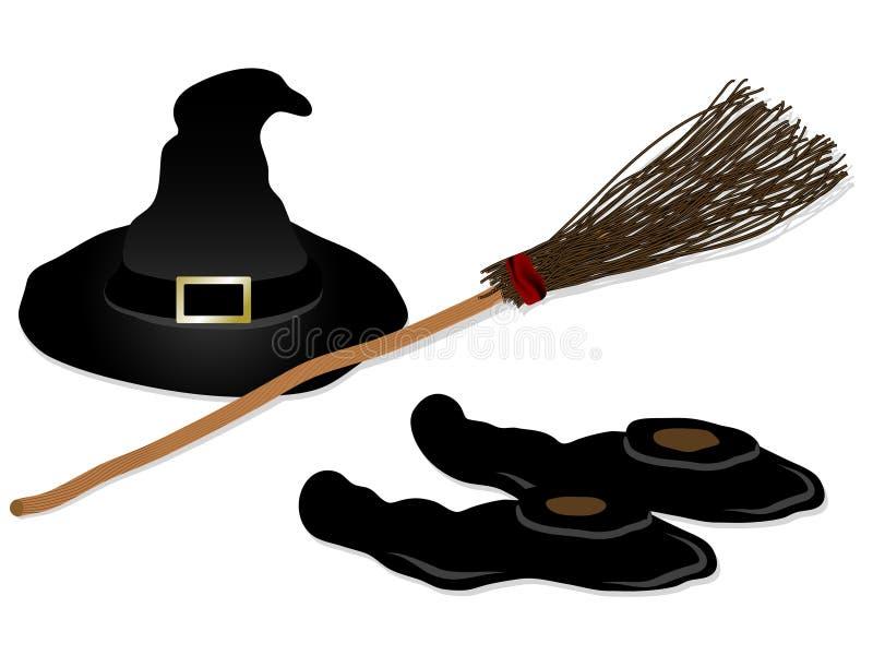 Halloween-Ikonen vektor abbildung