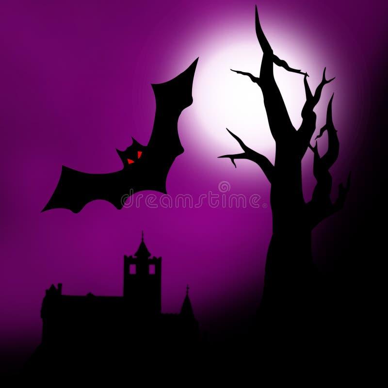 Halloween illustration stock images