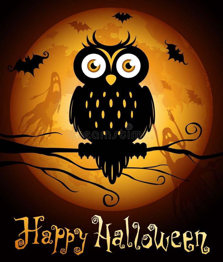 halloween illustration vektor illustrationer