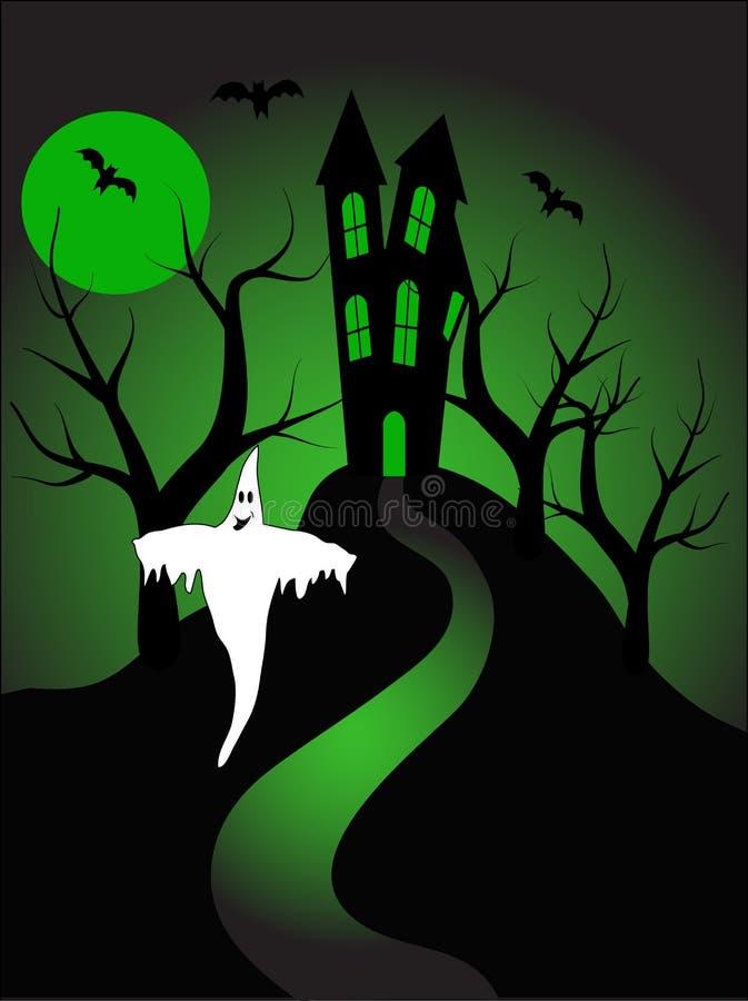 A halloween illustration stock photography