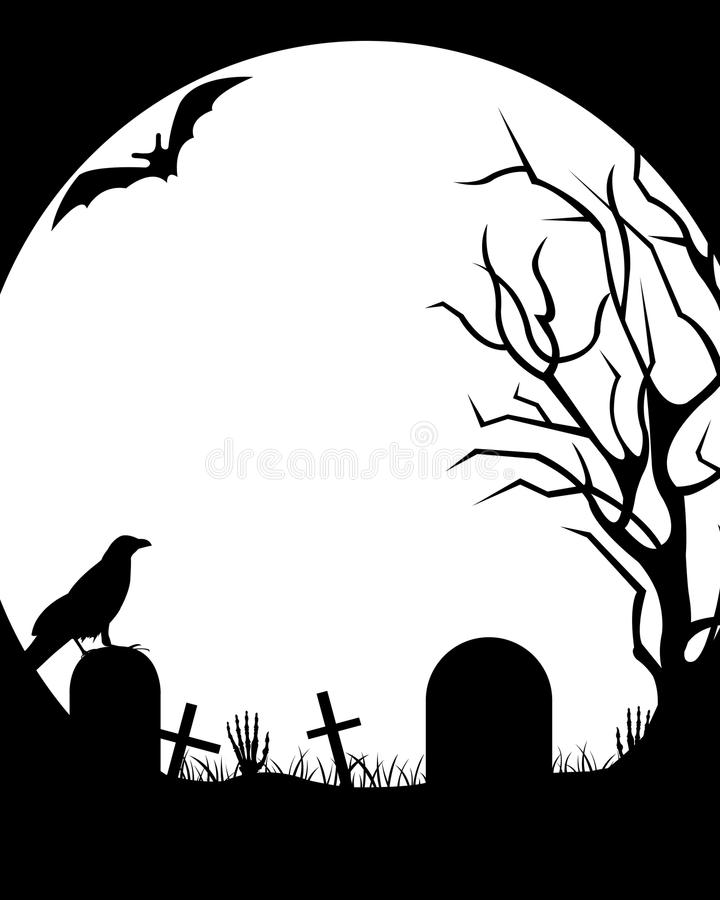Halloween Illustration royalty free illustration