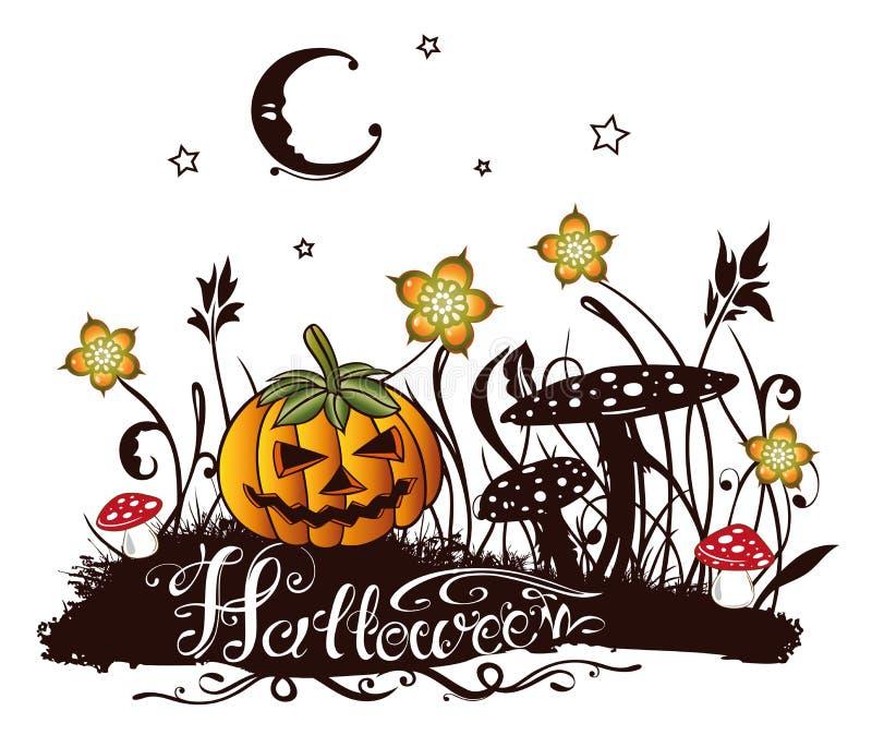 Halloween illustration vector illustration