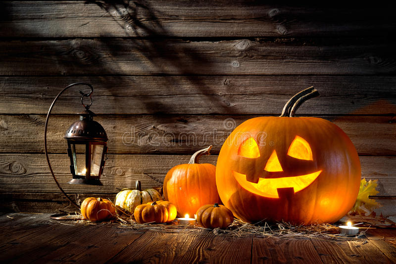 halloween illustrationpumpor ställde in vektorn
