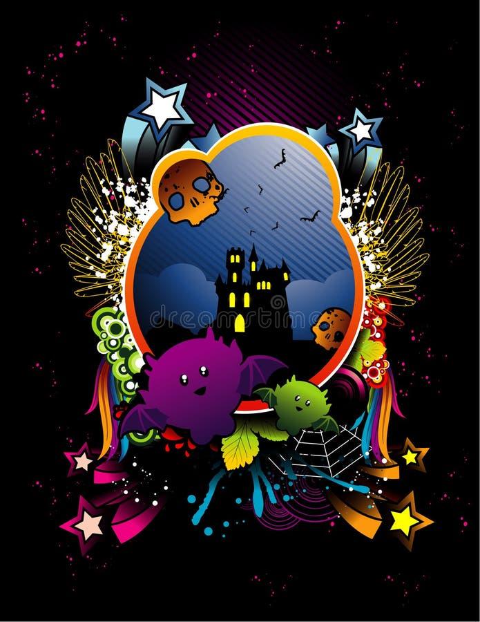 halloween ilustraci wektor ilustracji