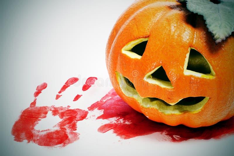 Download Halloween jack-o-lantern stock photo. Image of american - 26503902